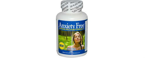 RidgeCrest Herbals Anxiety Free Review