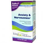 King Bio Homeopathic Anxiety and Nervousness