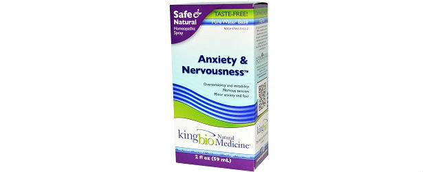 King Bio Homeopathic Anxiety and Nervousness Review