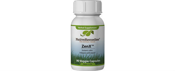 ZenX Anxiety Relief Supplements